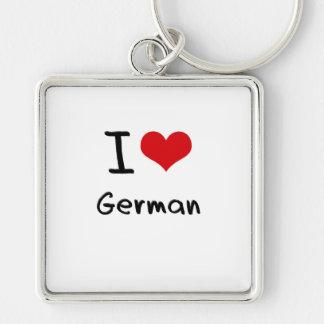 Amo alemán llaveros