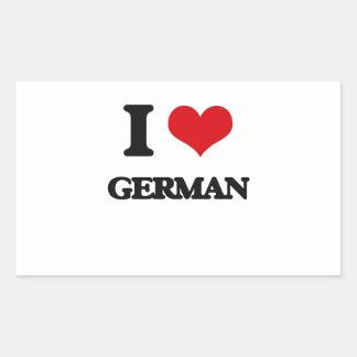 Amo alemán rectangular altavoz