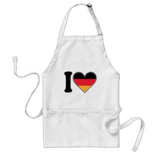 Amo Alemania Delantal