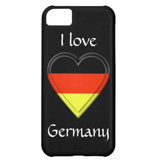 Amo Alemania Funda Para iPhone 5C