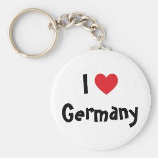 Amo Alemania Llaveros