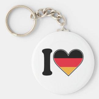 Amo Alemania Llavero