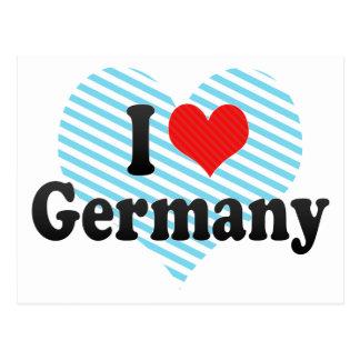 Amo Alemania Postales