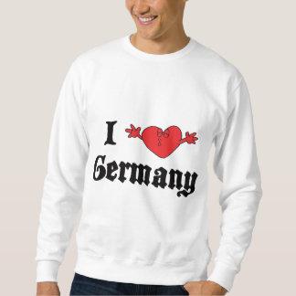 Amo Alemania Sudadera