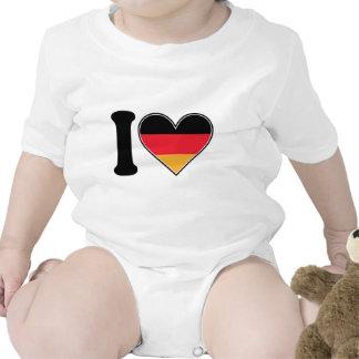 Amo Alemania Traje De Bebé