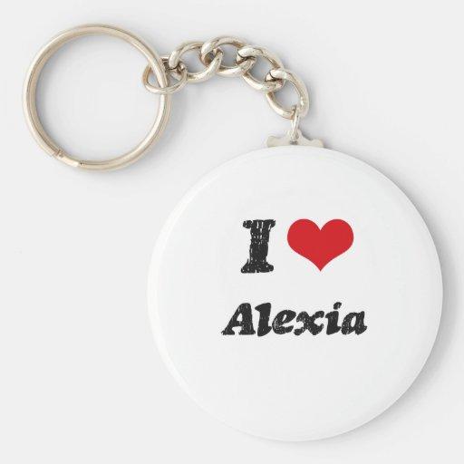 Amo Alexia Llaveros Personalizados