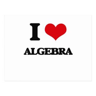 Amo álgebra postales