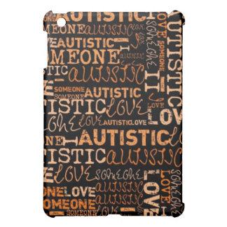 Amo alguien autístico iPad mini protector