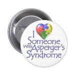 Amo alguien con Asperger Pin