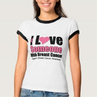 Amo alguien con el cáncer de pecho camisas