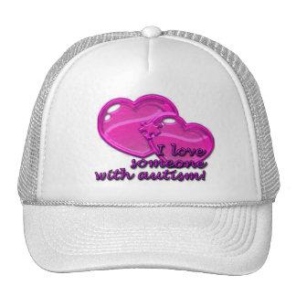 Amo alguien con el gorra del autismo