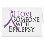 amo alguien con epilepsia tarjetón