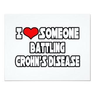 Amo alguien la enfermedad de Crohn de lucha Anuncios