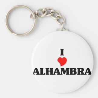 Amo Alhambra Llavero Redondo Tipo Pin