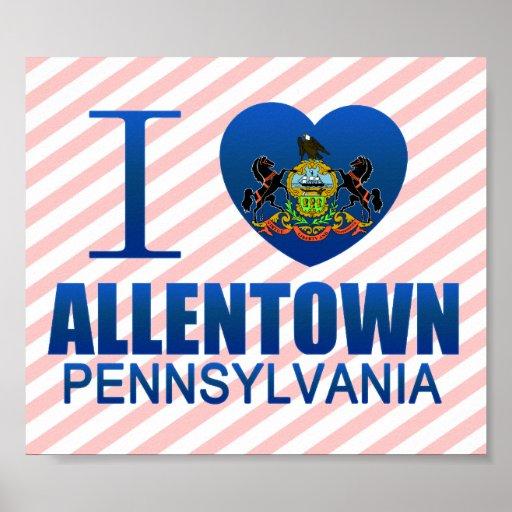 Amo Allentown, PA Póster