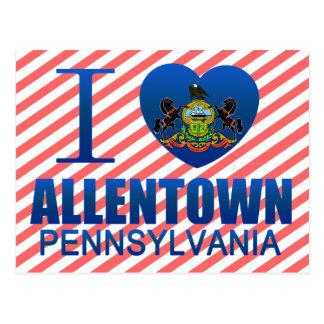 Amo Allentown, PA Tarjetas Postales