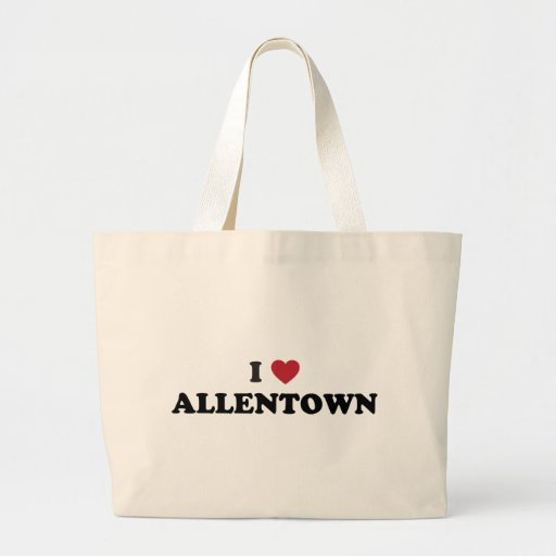 Amo Allentown Pennsylvania Bolsa Tela Grande