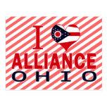 Amo Alliance, Ohio Tarjeta Postal