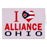 Amo Alliance, Ohio Tarjeton