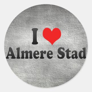 Amo Almere Stad, Países Bajos Etiquetas Redondas