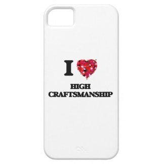 Amo alta artesanía iPhone 5 fundas