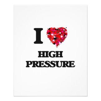 """Amo alta presión folleto 4.5"""" x 5.6"""""""