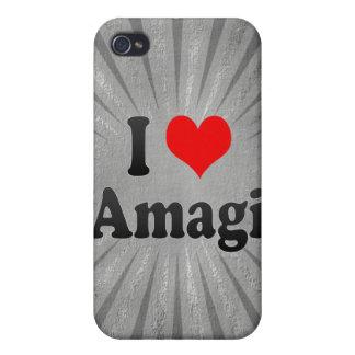 Amo Amagi, Japón iPhone 4 Cobertura