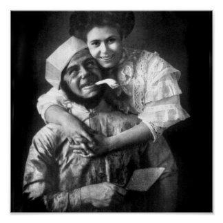 Amo amar a un albañil, 1908 impresiones