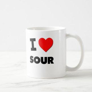 Amo amargo tazas de café