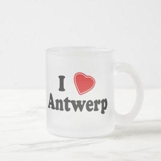Amo Amberes Taza De Café