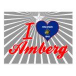 Amo Amberg, Wisconsin Postales