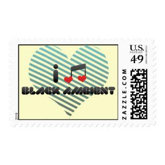 Amo ambiente negro sellos