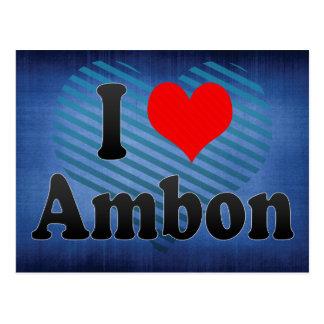 Amo Ambon, Indonesia. I Cinta Ambon, Indonesia Postal