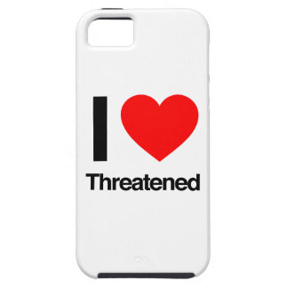 amo amenazado funda para iPhone 5 tough