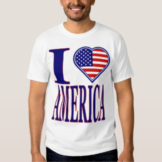 Amo América adelante de la camiseta de la edición Playera