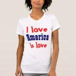 Amo América Camisetas