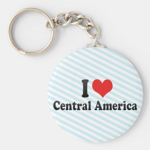 Amo America Central Llaveros