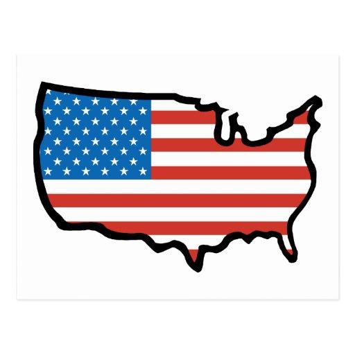 Amo América - Estados Unidos señalan por medio de  Postal