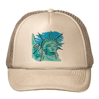 Amo América - estatua de la libertad Nueva York lo Gorro De Camionero