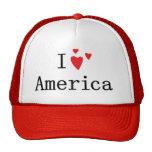 Amo América Gorros Bordados