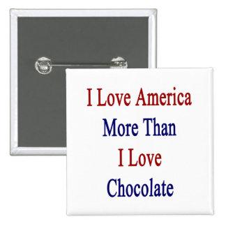 Amo América más que el chocolate del amor de I Pin