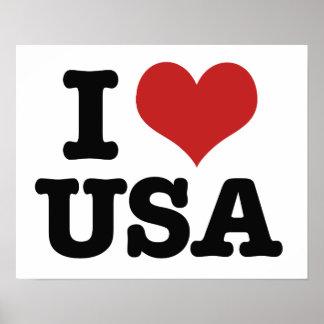 Amo América Póster