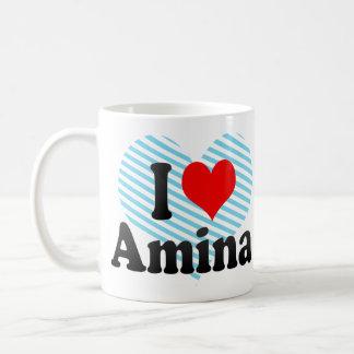Amo Amina Taza De Café
