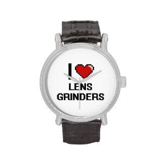 Amo amoladoras de la lente reloj de mano