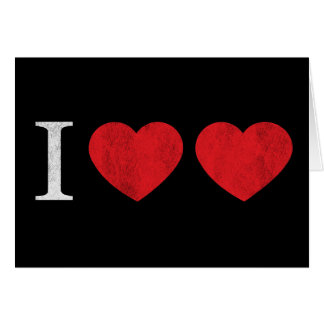 Amo amor tarjeton