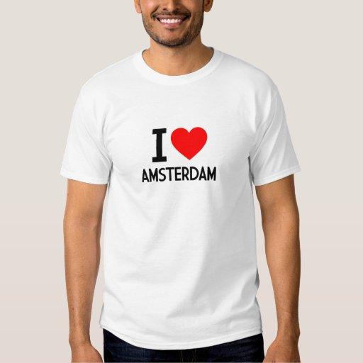 Amo Amsterdam Playeras