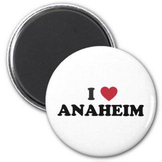Amo Anaheim California Imán Redondo 5 Cm