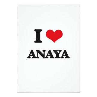 """Amo Anaya Invitación 5"""" X 7"""""""