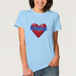 Amo Anchorage Alaska Camisas
