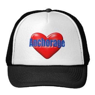 Amo Anchorage Alaska Gorras De Camionero